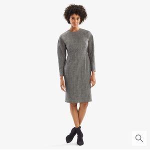 NWT MM Lafleur Rosa Dress in Stretch Check